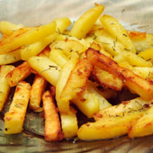 Картофель с орегано